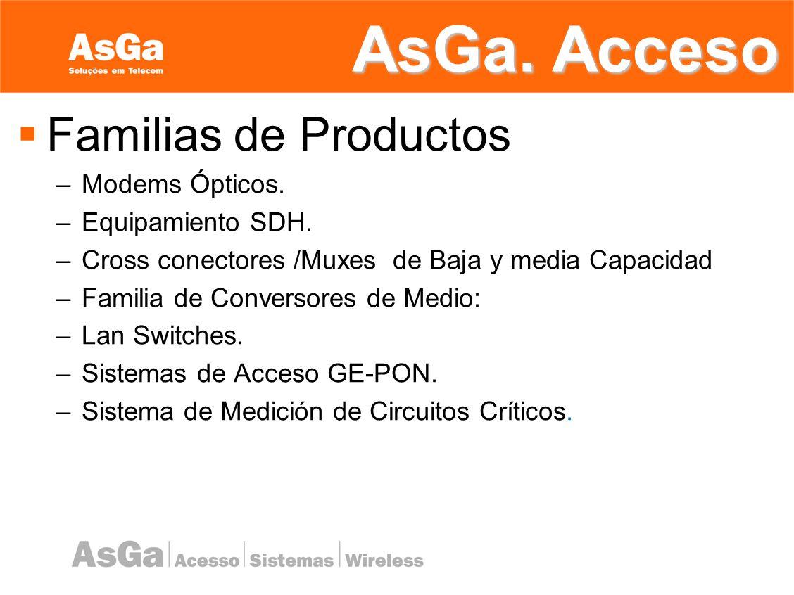 AsGa Sistemas Soluciones em Telecomunicaciones