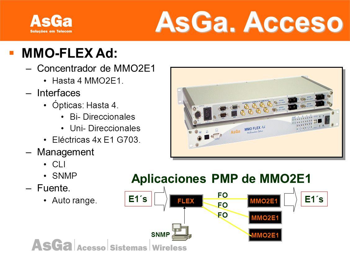 MMO-4E1-Ad: –Aplicaciones P2P –Interfaces: Ópticas Bidireccionales.