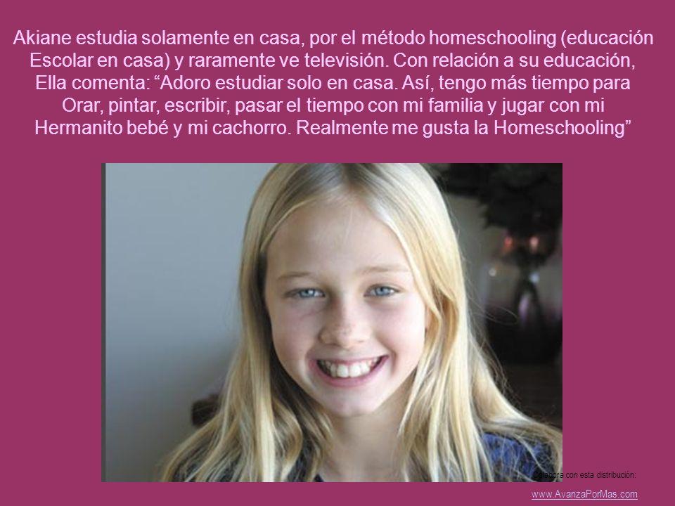 Akiane Kramarik es una delicada niña de 12 años que vive con sus padres y tres hermanos en Idaho, EUA. Diseña con precisión real desde los 5 años de e