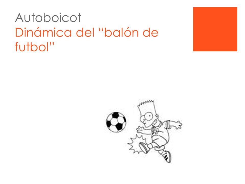 Autoboicot Dinámica del balón de futbol