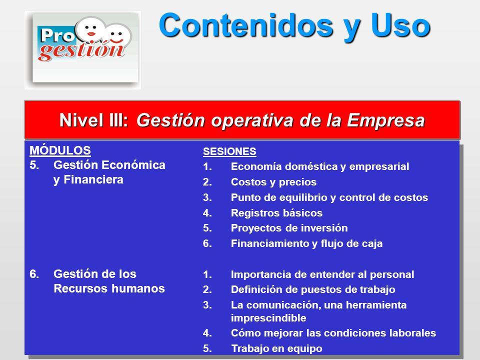 MÓDULOS 5. 5.Gestión Económica y Financiera 6. 6.Gestión de los Recursos humanos MÓDULOS 5. 5.Gestión Económica y Financiera 6. 6.Gestión de los Recur