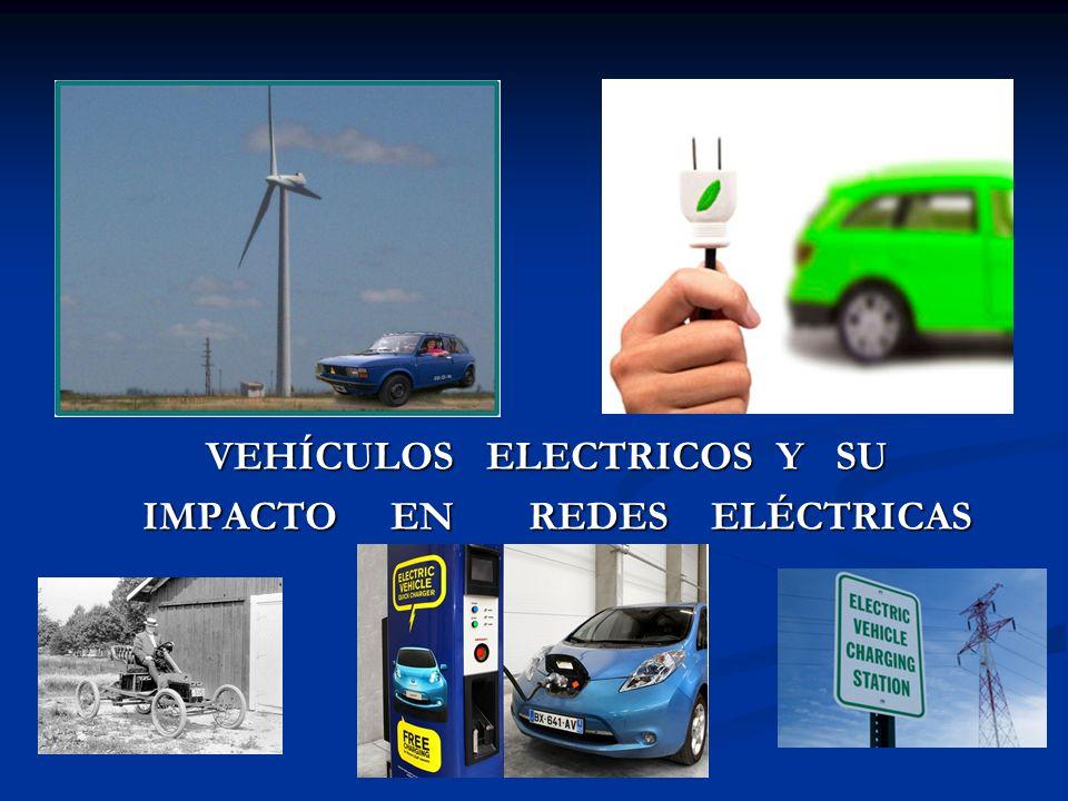VEHÍCULOS ELECTRICOS Y SU IMPACTO EN REDES ELÉCTRICAS IMPACTO EN REDES ELÉCTRICAS