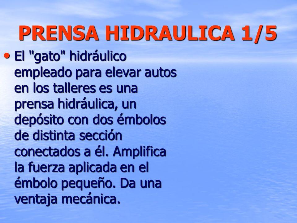 PRENSA HIDRAULICA 1/5 El
