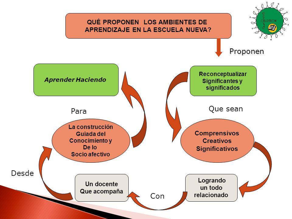 Proyectos Formativos basados en la socialización La posibilidad de formar Seres con espíritu de Liderazgo.