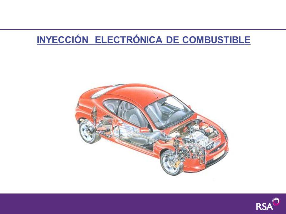 CLASIFICACIÓN DEL SISTEMA DE INYECCIÓN Sistemas monopunto: solamente tienen un inyector para todos los cilindros.