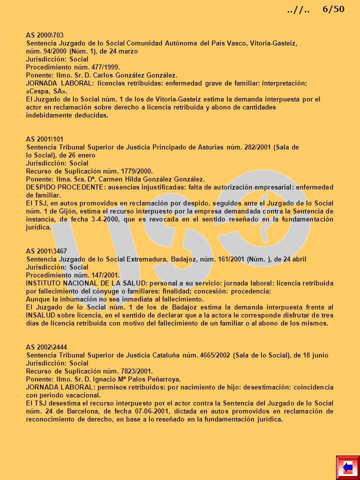 AS 2000\703 Sentencia Juzgado de lo Social Comunidad Autónoma del País Vasco, Vitoria-Gasteiz, núm. 94/2000 (Núm. 1), de 24 marzo Jurisdicción: Social