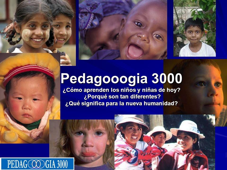 22/10/08 Pedagooogia 3000 ¿Cómo aprenden los niños y niñas de hoy.