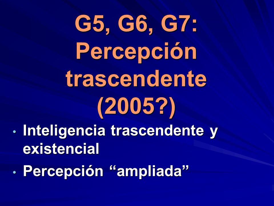 G 1 G 2 G 3 G 4 G5 + G6 + G7