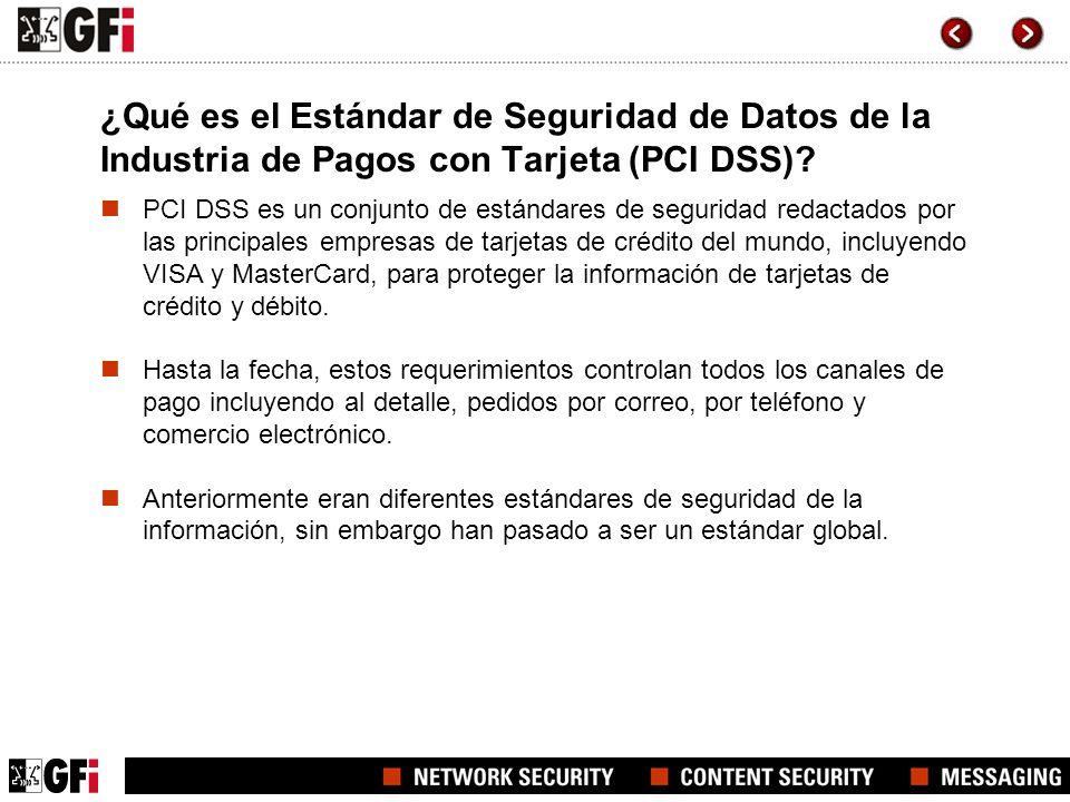 ¿Qué es el Estándar de Seguridad de Datos de la Industria de Pagos con Tarjeta (PCI DSS)? PCI DSS es un conjunto de estándares de seguridad redactados