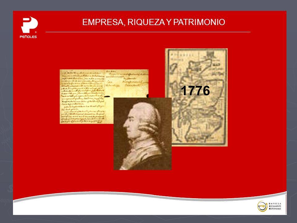 EMPRESA, RIQUEZA Y PATRIMONIO 1776