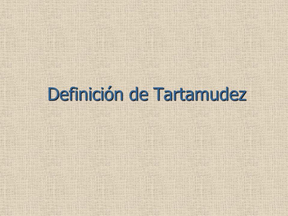 Definición de Tartamudez
