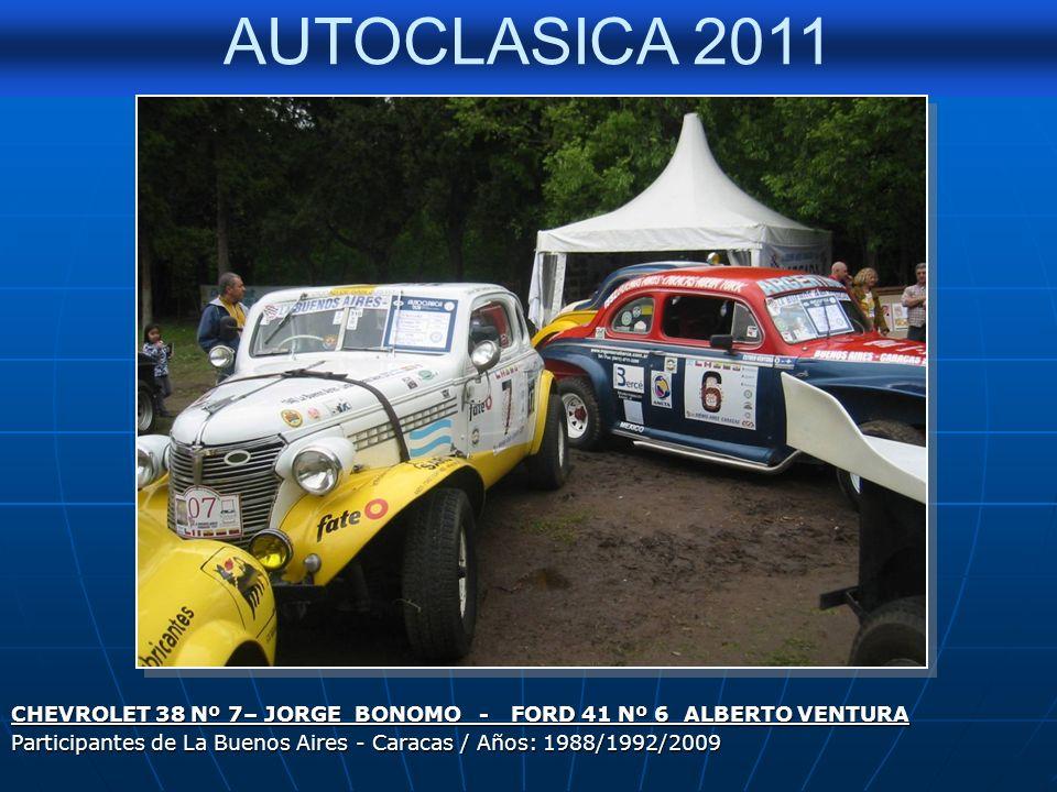 AUTOCLASICA 2011 Cupe Ford 1940 TC – Pertenece a Carlos Labrozzi Con su trompa original - Década de 1940