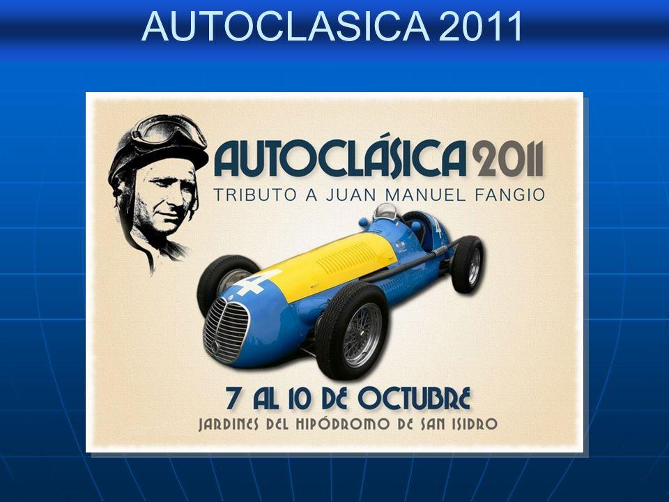 AUTOCLASICA 2011 CHEVROLET 38 Nº 7– JORGE BONOMO - FORD 41 Nº 6 ALBERTO VENTURA Participantes de La Buenos Aires - Caracas / Años: 1988/1992/2009