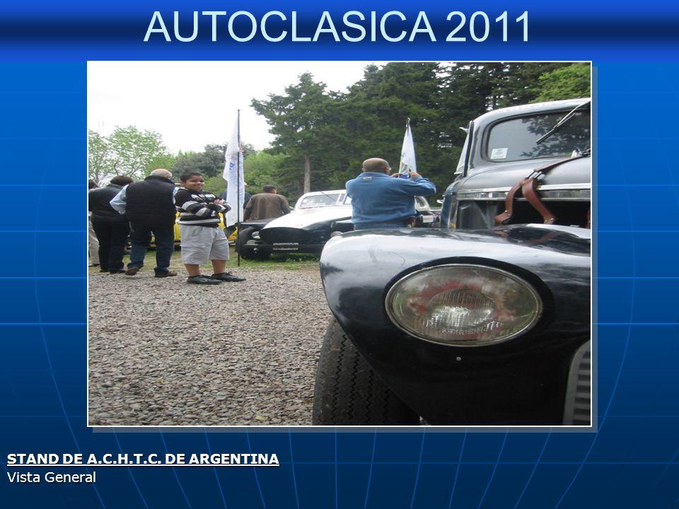 AUTOCLASICA 2011 HOMENAJE A CARLOS P.