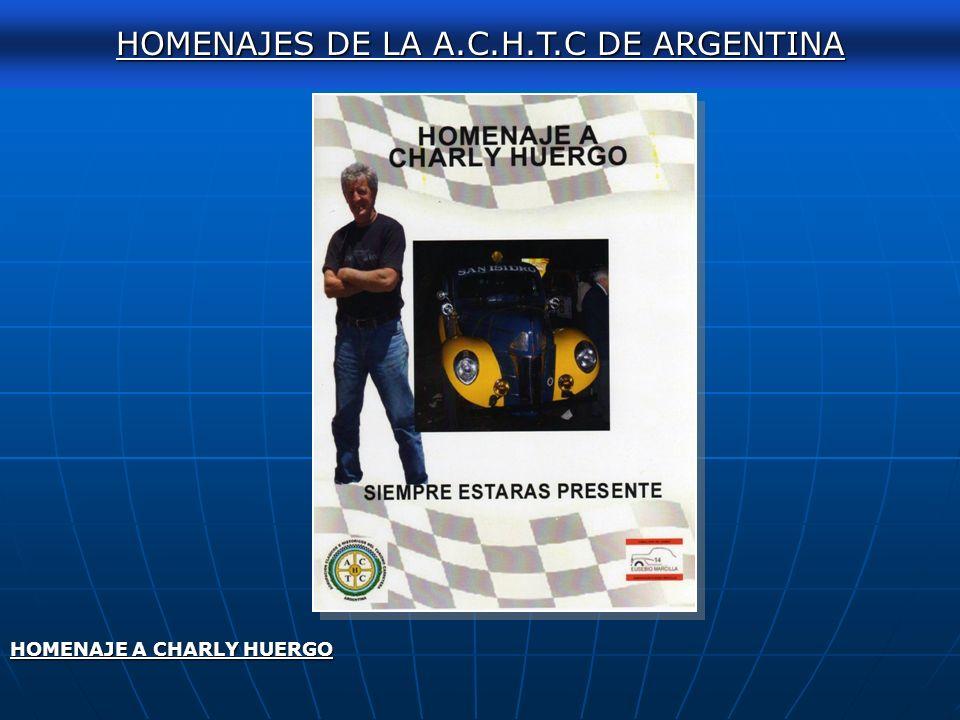 AUTOCLASICA 2011 HOMENAJES DE LA A.C.H.T.C DE ARGENTINA