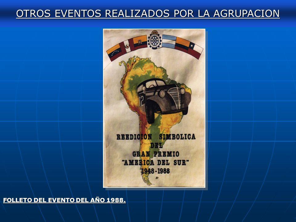 AUTOCLASICA 2011 OTROS EVENTOS REALIZADOS POR LA AGRUPACION