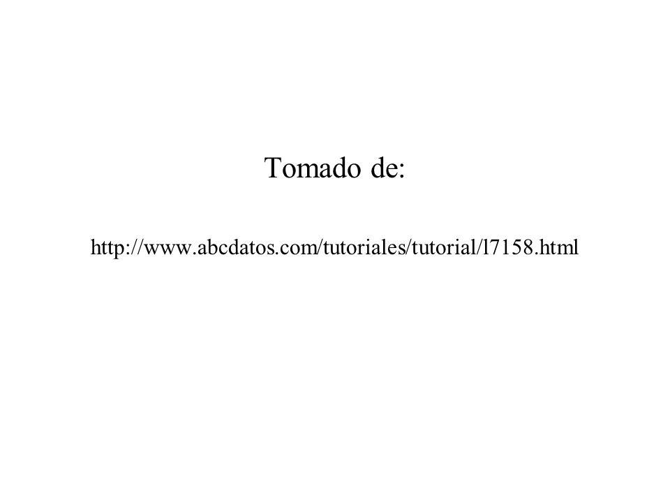 Tomado de: http://www.abcdatos.com/tutoriales/tutorial/l7158.html