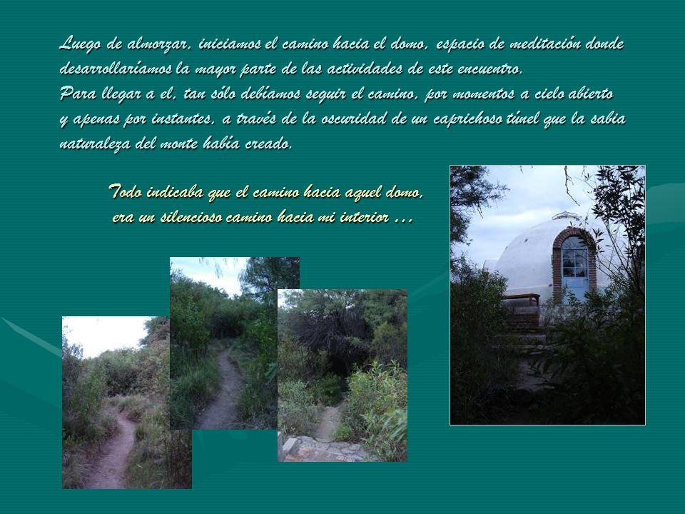 Un silencioso tren había llegado al andén de la vieja estación en Capilla del Monte … Om shanti