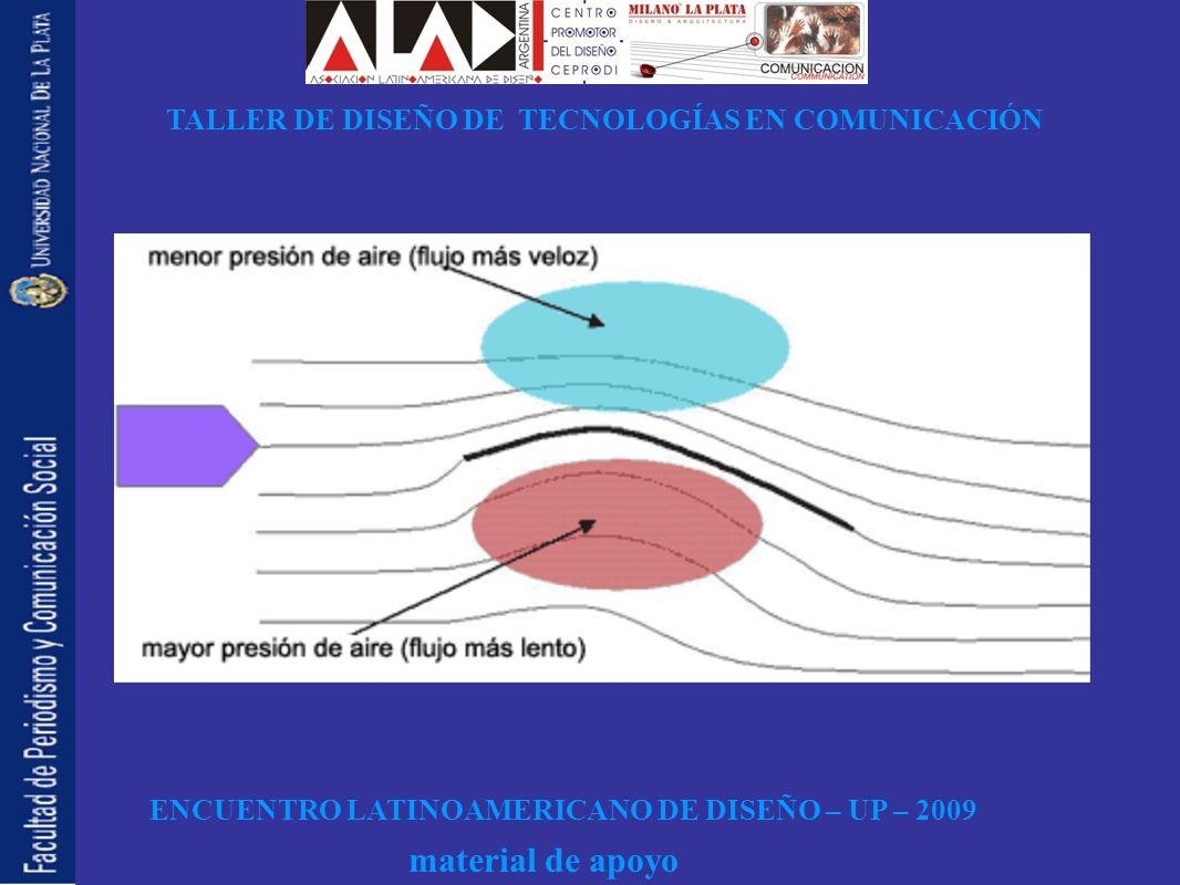 ENCUENTRO LATINOAMERICANO DE DISEÑO – UP – 2009 TALLER DE DISEÑO DE TECNOLOGÍAS EN COMUNICACIÓN material de apoyo