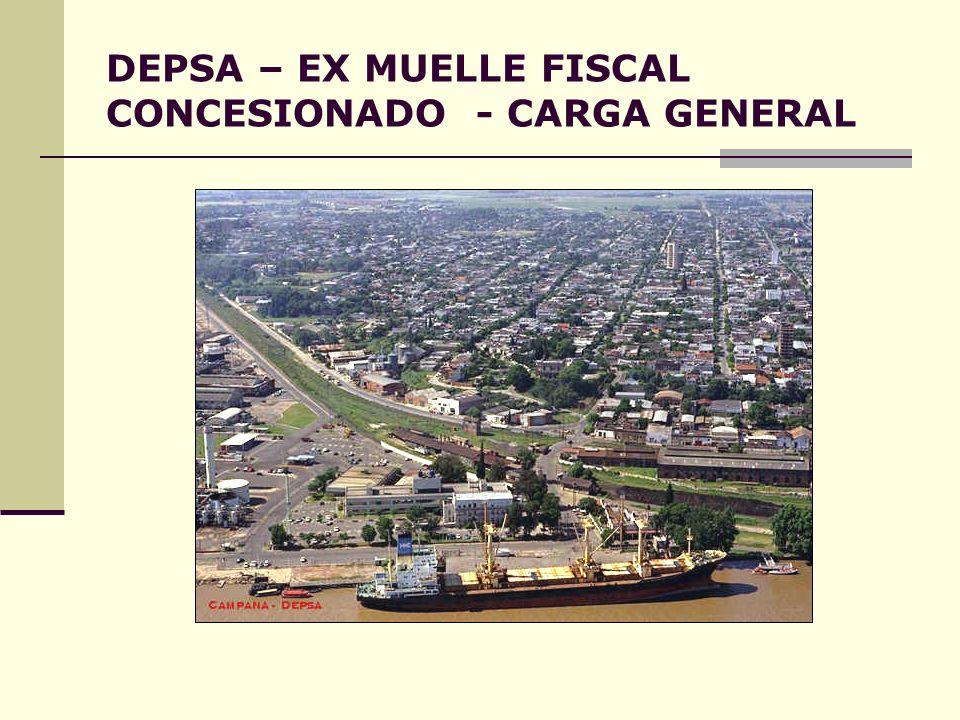DEPSA – EX MUELLE FISCAL CONCESIONADO - CARGA GENERAL