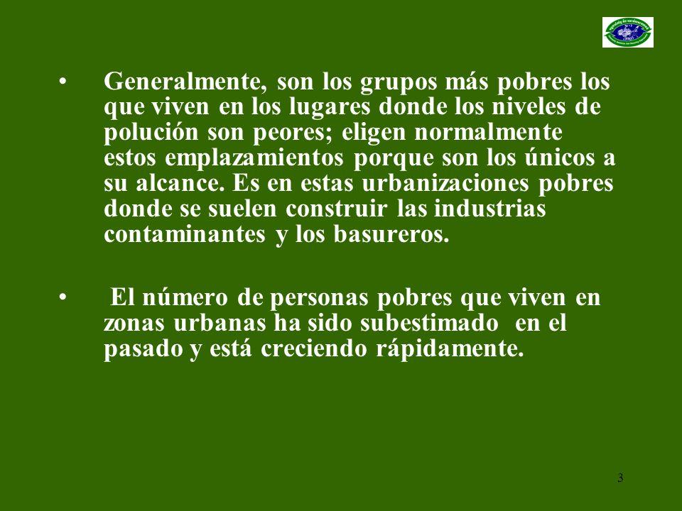 14 GRUPOS DE AUTOAYUDA Y FORMACIÓN DE COMUNIDADES URBANAS 1.