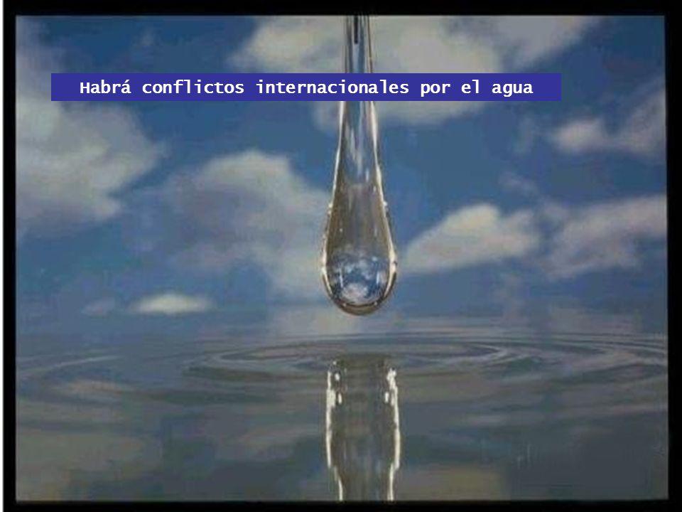 La mitad de la población mundial: más de 3 mil millones de personas sufrirá escasez de agua ¡Menos de 1,7 metros cúbicos de agua per cápita anual!