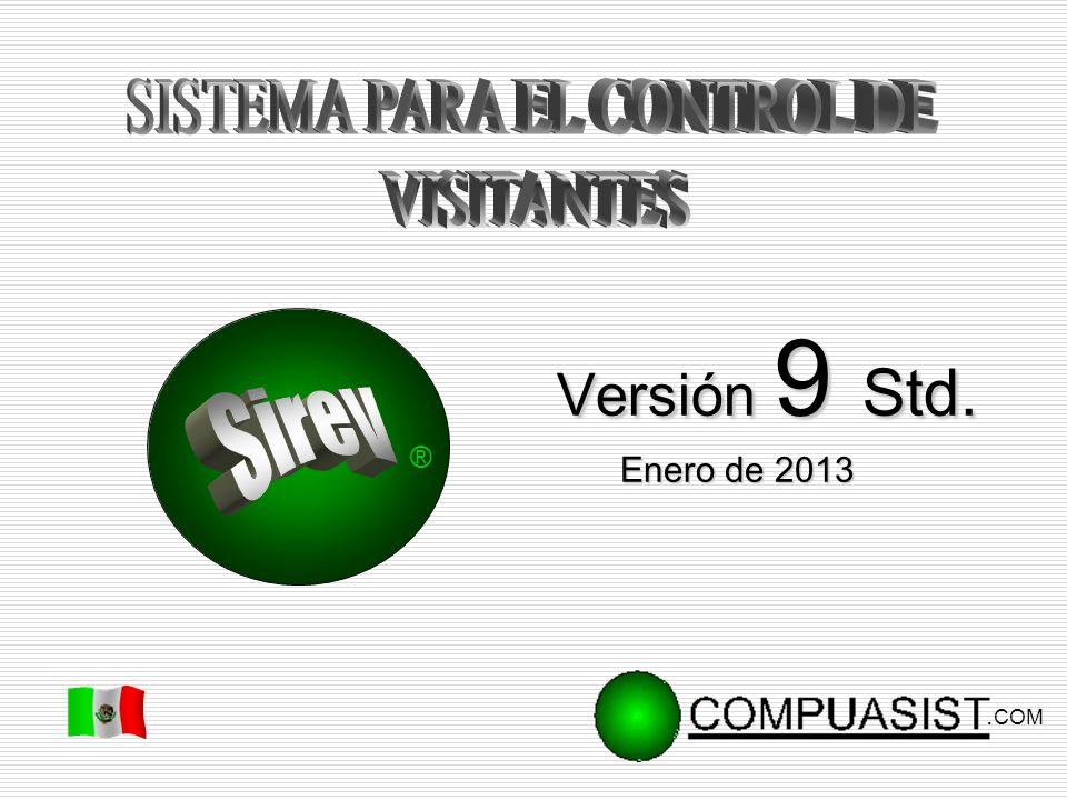 Enero de 2013 ®. COM Versión 9 Std. Versión 9 Std.