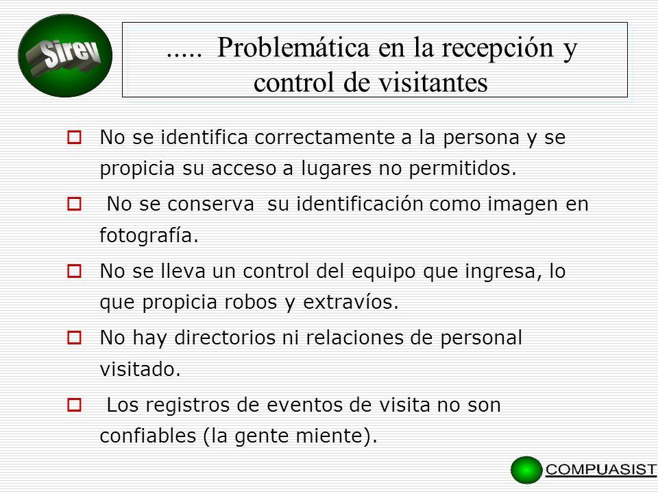 No se identifica correctamente a la persona y se propicia su acceso a lugares no permitidos.
