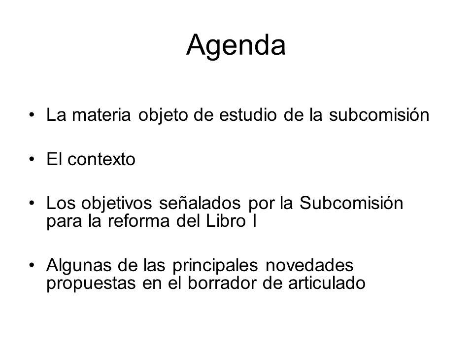 El campo de acción de la subcomisión El Libro I sobre el procedimiento administrativo –Un continuo y viejo proceso de limitación de las inmunidades del poder y de modernización de la administración.