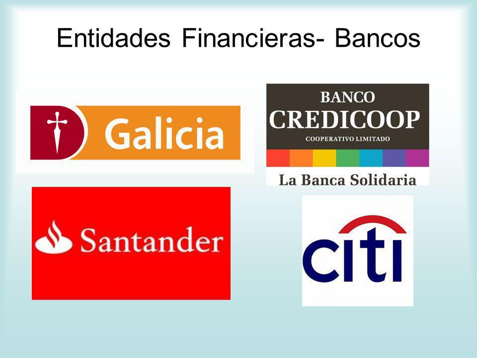 Entidades Financieras- Bancos