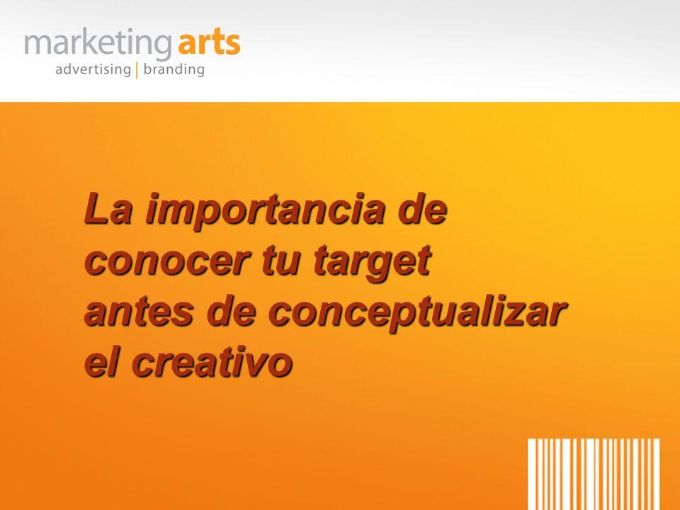La importancia de conocer tu target antes de conceptualizar el creativo