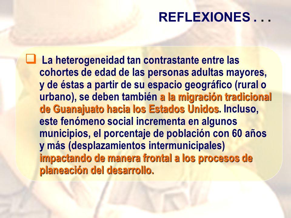 a la migración tradicional de Guanajuato hacia los Estados Unidos impactando de manera frontal a los procesos de planeación del desarrollo.