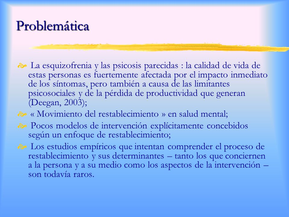 Mental Health Recovery Measure Mental Health Recovery Measure (Tipo Likert) Total MHRM: Mediana ~ 3,3 1.