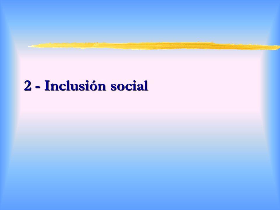 2 - Inclusión social