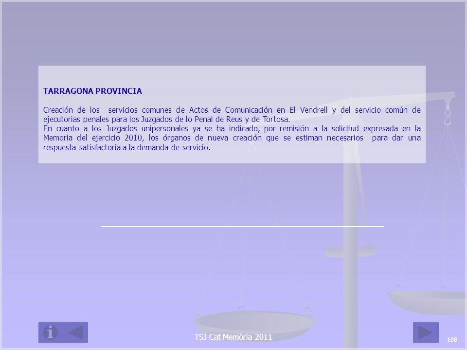 TSJ Cat Memòria 2011 8.ANEXOS TERRITORIALES 8.1.