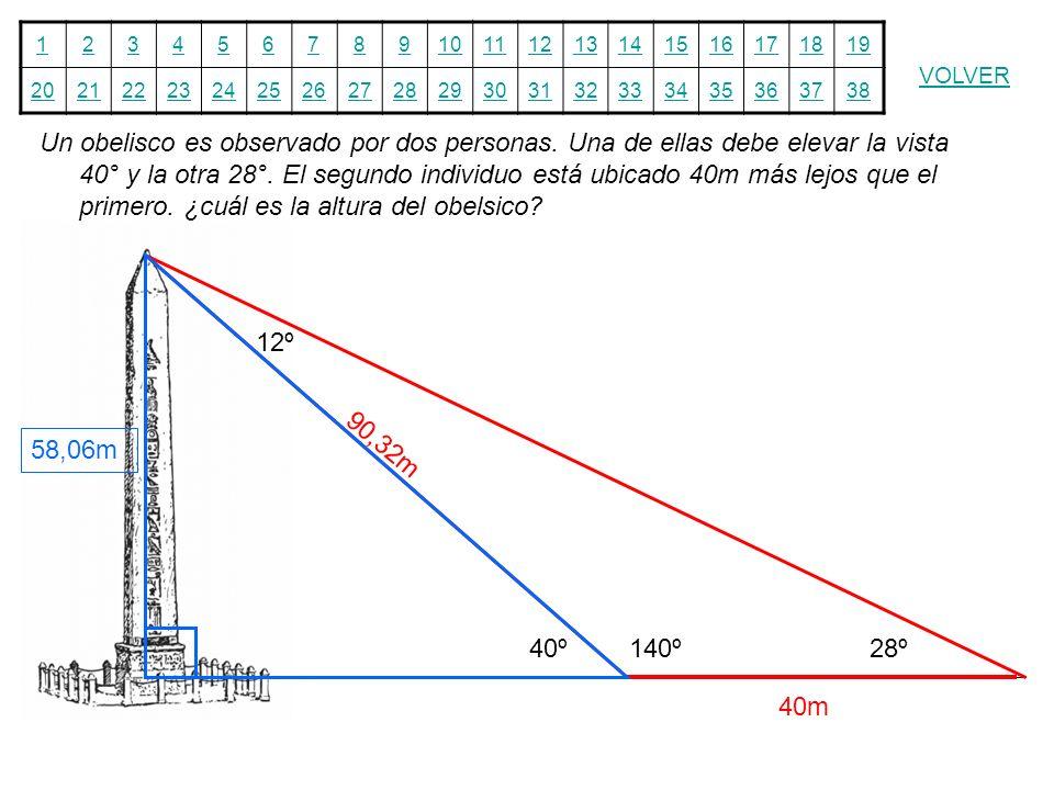 12345678910111213141516171819 20212223242526272829303132333435363738 VOLVER Un obelisco es observado por dos personas. Una de ellas debe elevar la vis