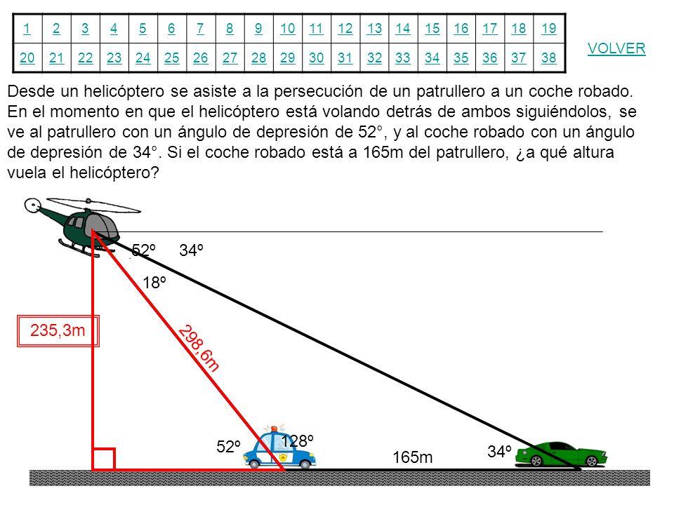 12345678910111213141516171819 20212223242526272829303132333435363738 VOLVER Desde un helicóptero se asiste a la persecución de un patrullero a un coch