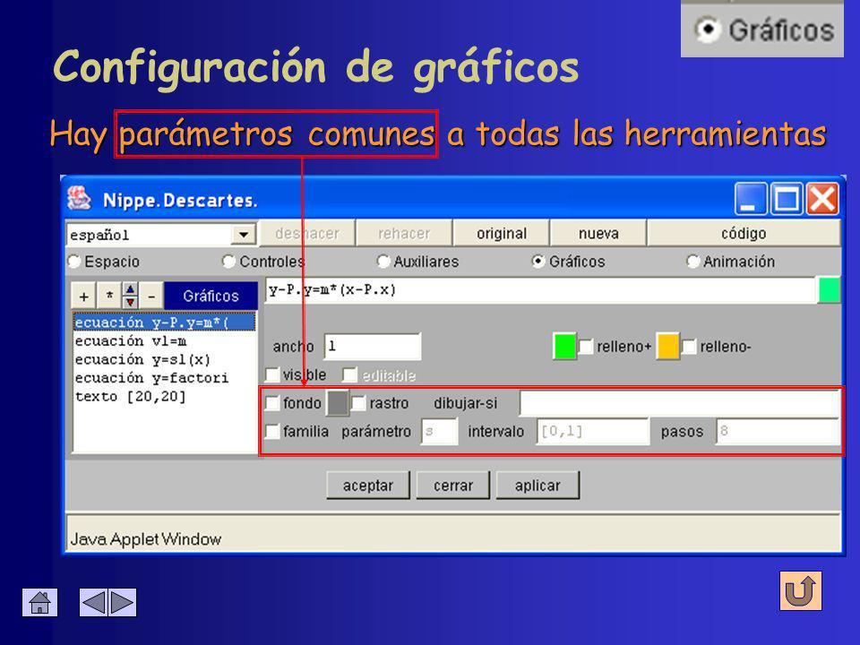Edición de gráficos Se hace a través de los botones habituales Agregar Duplicar Mover Eliminar Editar el texto