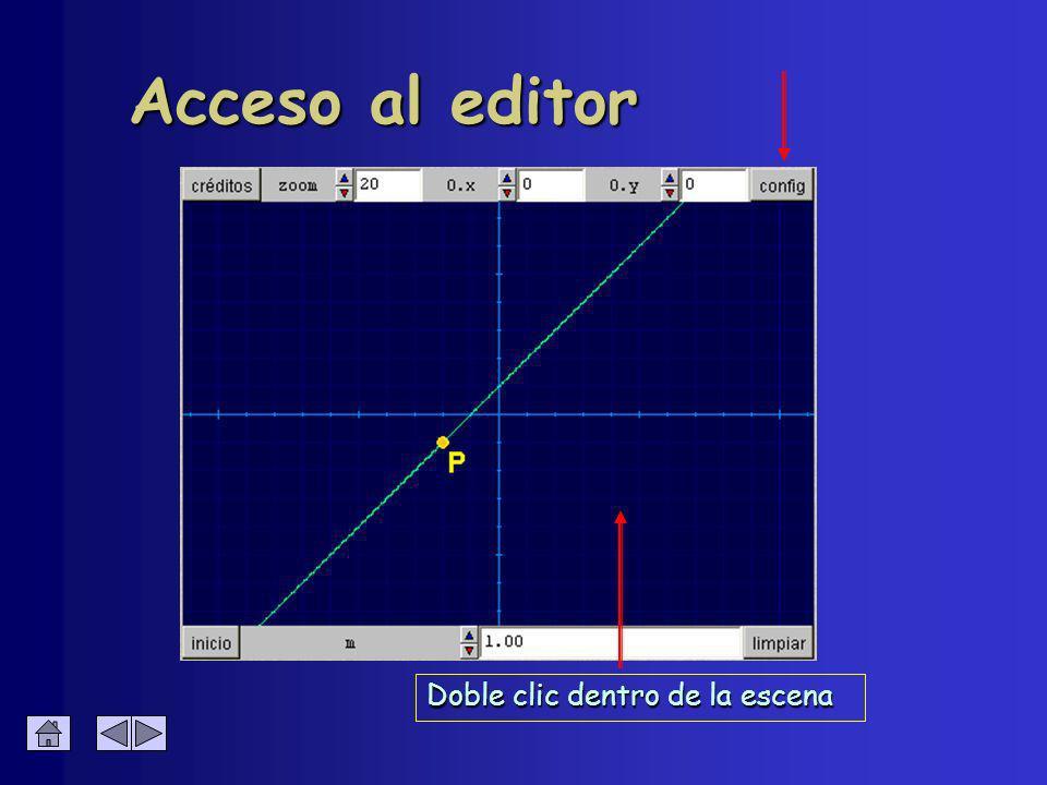 Permite configurar el texto Editor de texto : Líneas è 3 tipos de letra è 2 estilos è varios tamaños è varias líneas