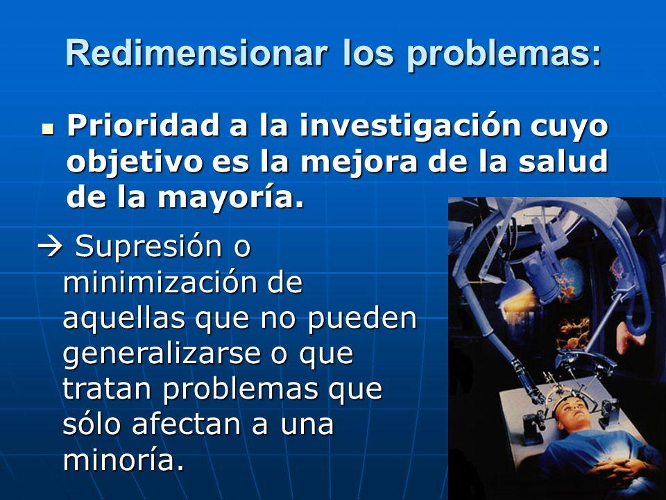 Prioridad a la medicina medioambiental.Identificación y supresión de tóxicos industriales.