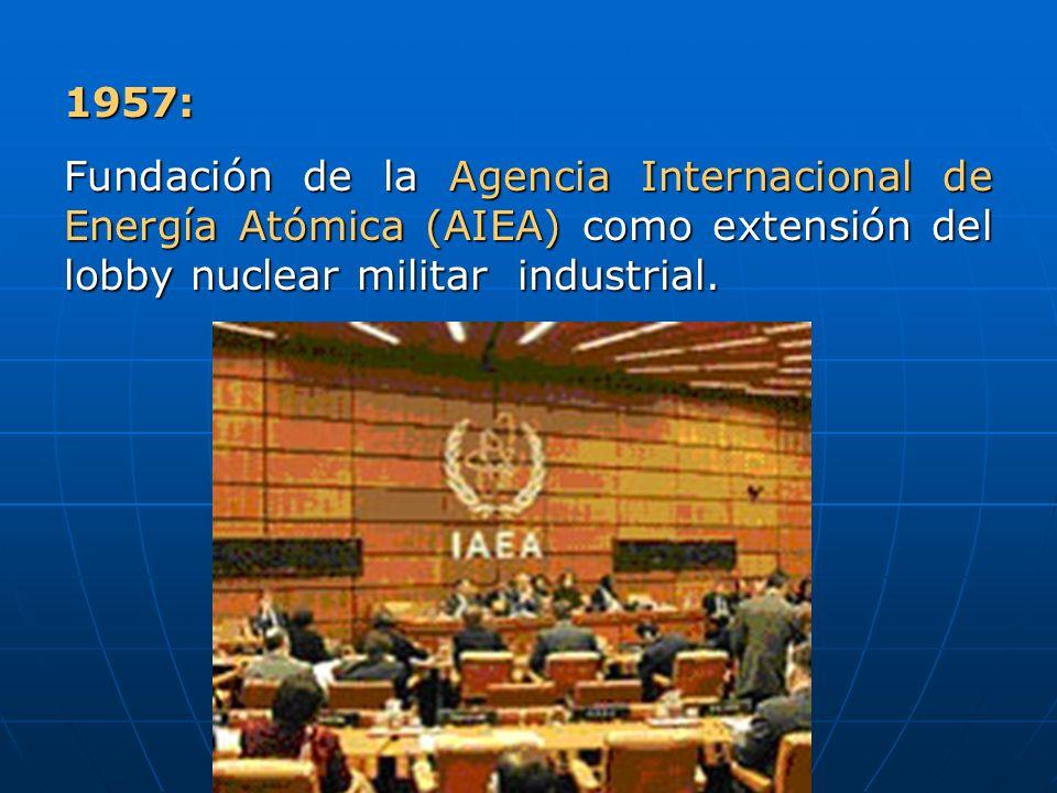 La OMS en 1956 condenó la energía nuclear Participaron premios Nobel como J.M.
