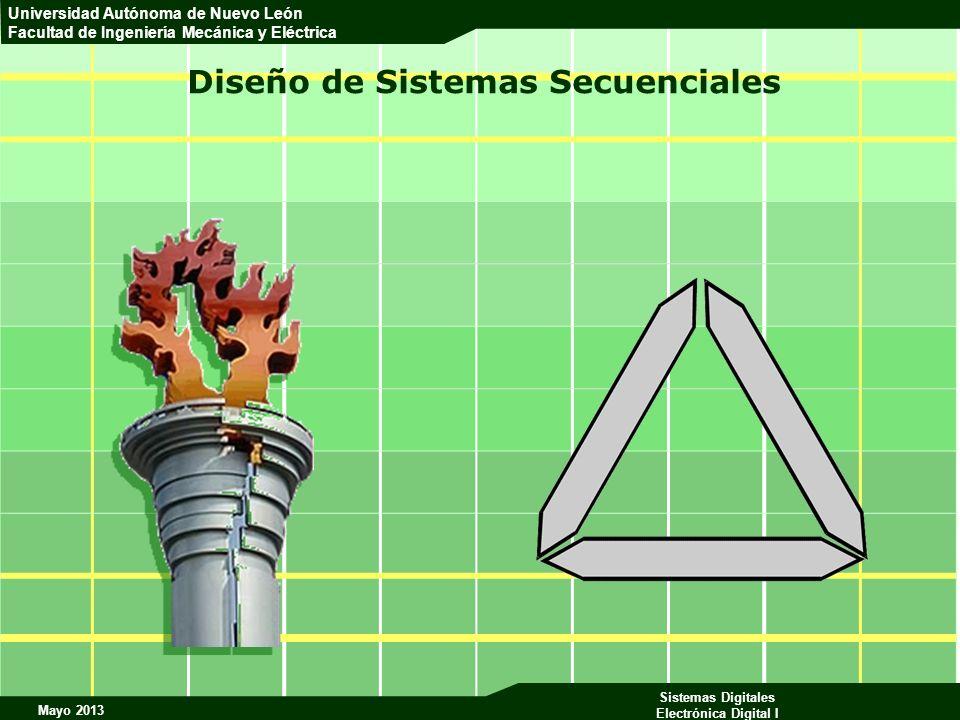 Mayo 2013 Sistemas Digitales Electrónica Digital I Universidad Autónoma de Nuevo León Facultad de Ingeniería Mecánica y Eléctrica Diseño de Sistemas S