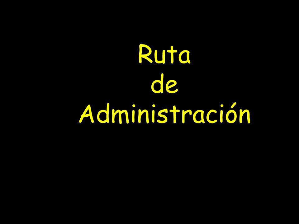 Ruta de Administración