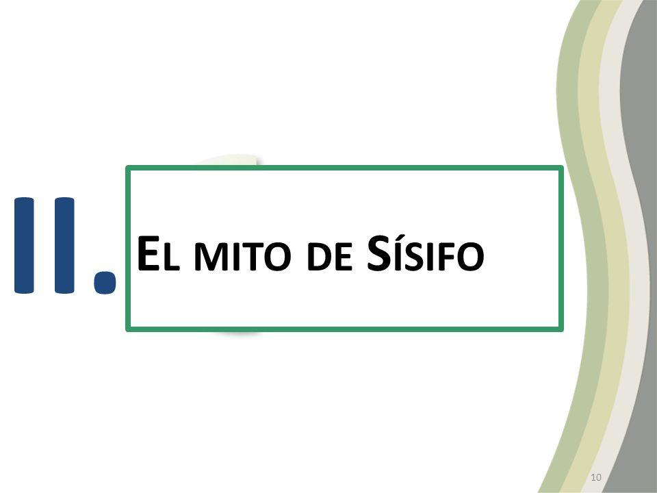 II. E L MITO DE S ÍSIFO 10