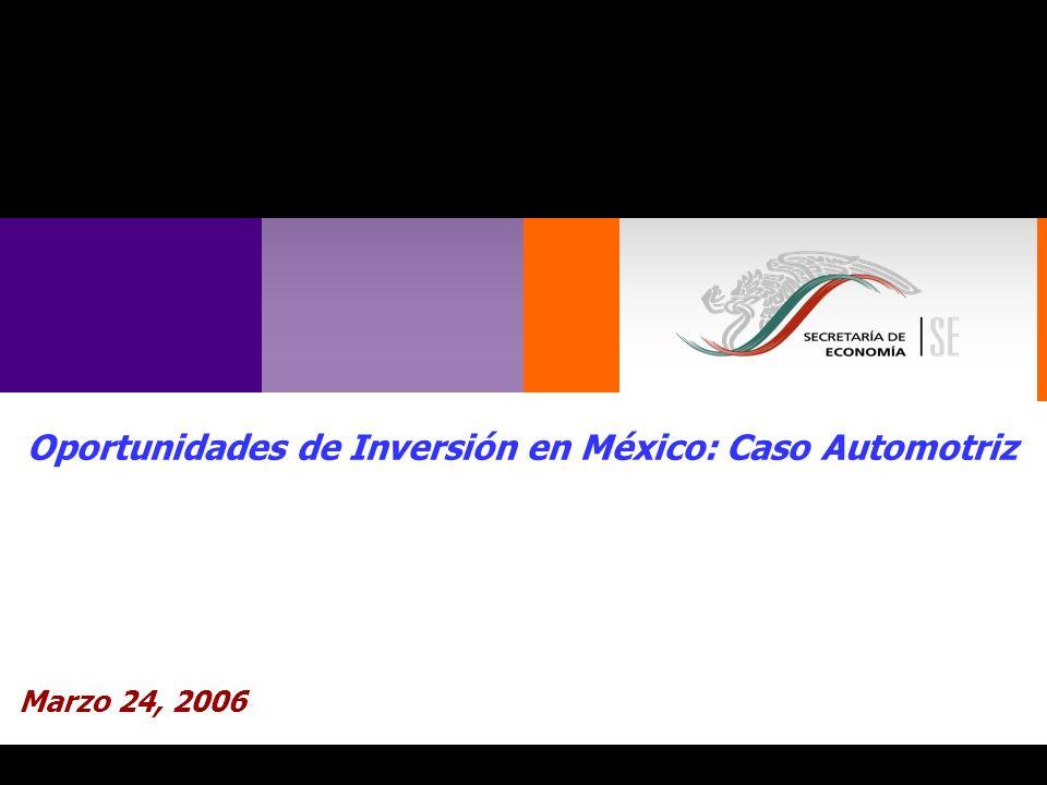 12 Inversión Extranjera Directa Automotriz y autopartes 2000-2005 Millones de dólares Total USD $10,312 e.
