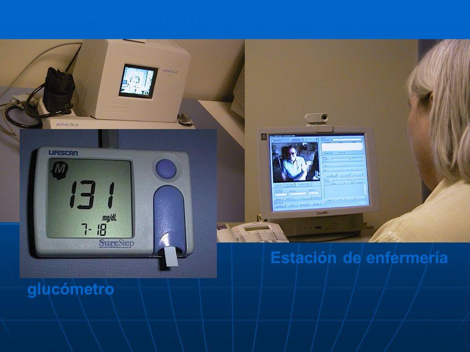 Tele-Home Healthcare Estación de enfermería Patient Home Station glucómetro
