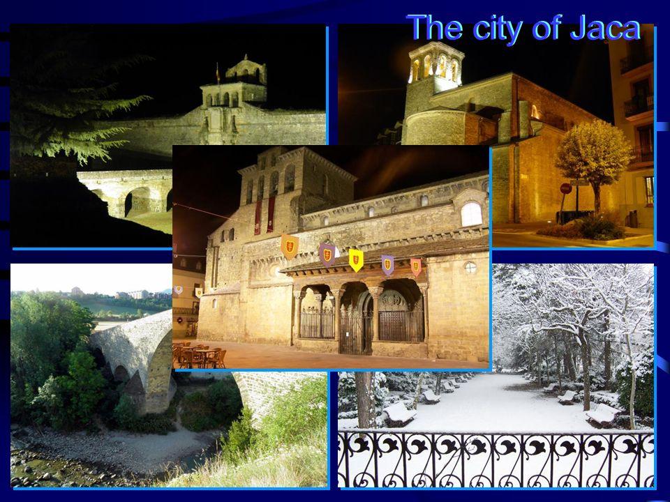 The city of Jaca