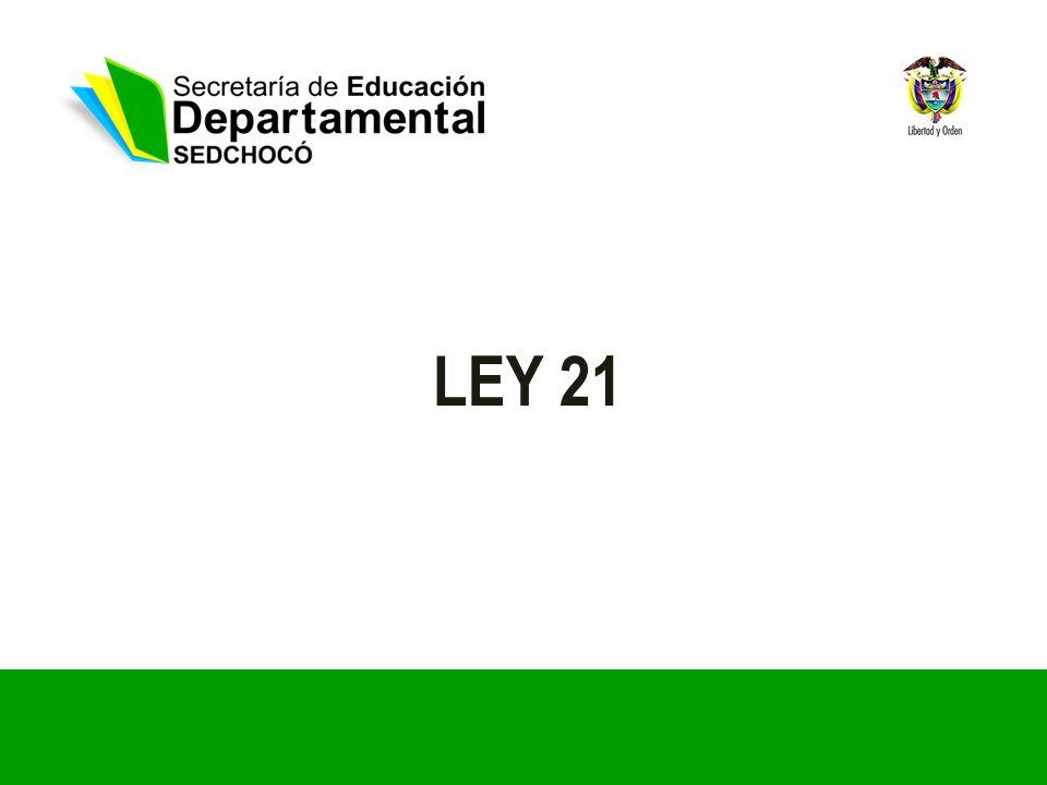 LEY 21