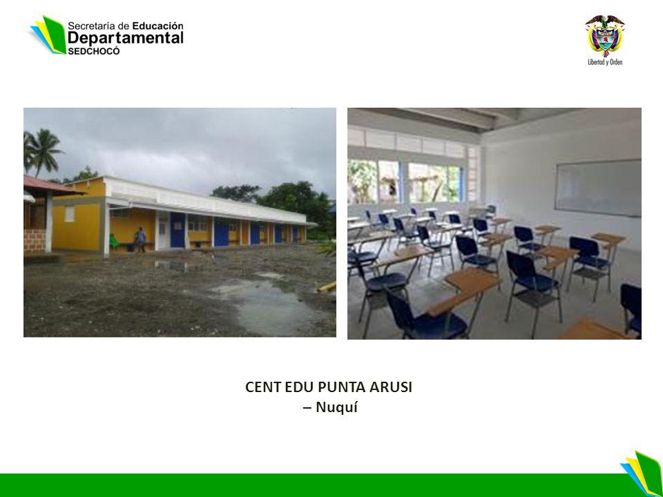 CENT EDU PUNTA ARUSI – Nuquí