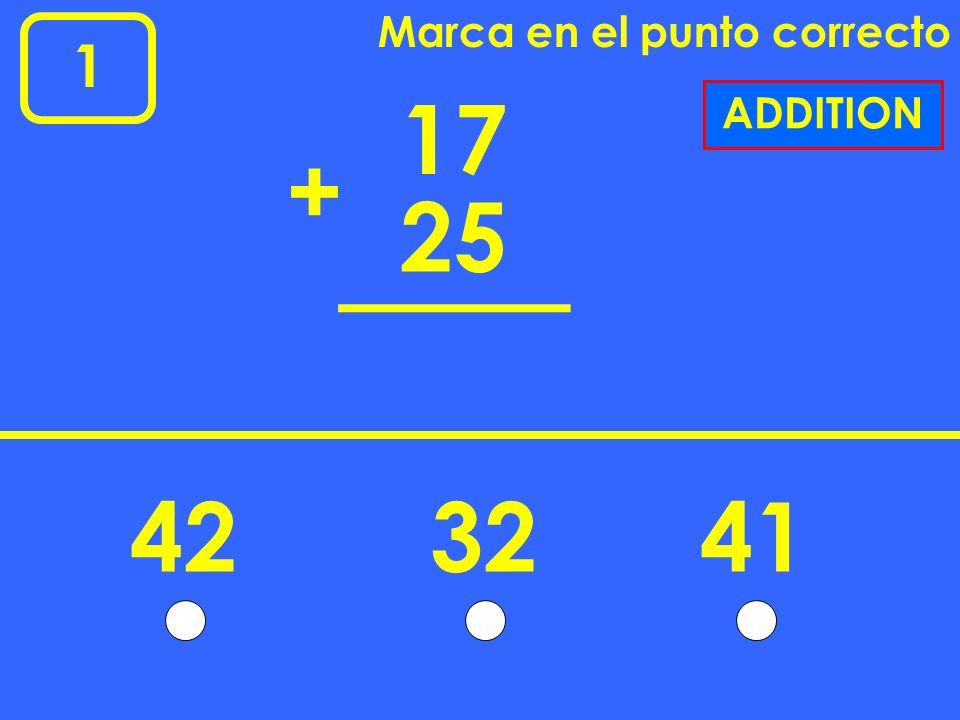 1 Marca en el punto correcto 546 ? 10 10 NUMBER LINE